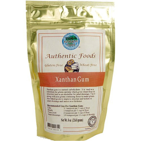 Authentic Foods Xanthan Gum - 8 Oz