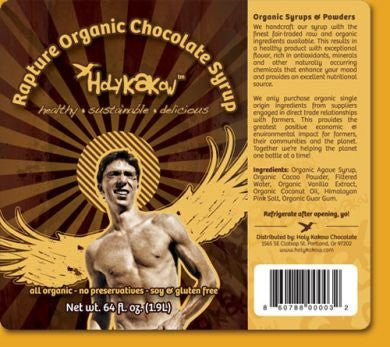 Holy Kakow Rapture Organic Chocolate Syrup - 2 pack