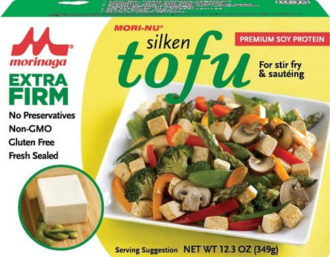 Mori-Nu Silken Tofu, Extra Firm, 12.3 Oz (Pack of 12)