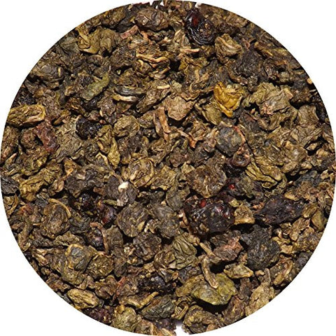 Purple Dragon Adaptogen Tea (Oolong with Schizandra Berries), Organic & Fair-Trade