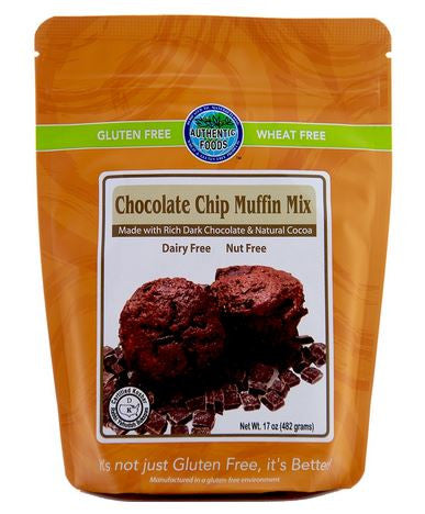Authentic Foods Chocolate Chip Muffin Mix - 2 Pack