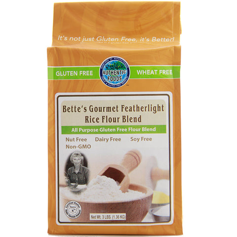 Authentic Foods Bette's Featherlight Rice Flour Blend - 3 lb