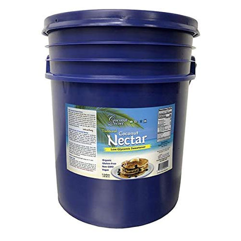 Coconut Secret Organic Coconut Nectar - 5 Gallon