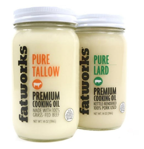 Pastured Lard & Tallow Combo Pack