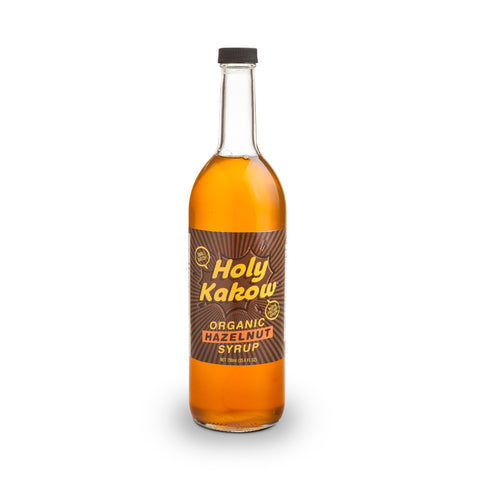 Holy Kakow Cafe Organic Hazelnut Syrup - 750ml