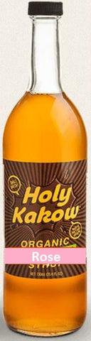 Holy Kakow Cafe Organic Rose Syrup - 750ml