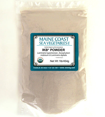 Organic Raw Icelandic Kelp Powder