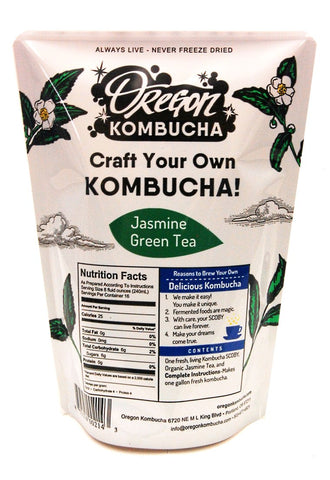 Oregon Kombucha Starter Kit - Jasmine Green Tea