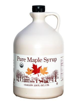 Organic Pure Maple Syrup, Grade B