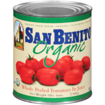 San Benito Organic Whole Peeled Tomatoes - #10 Cans
