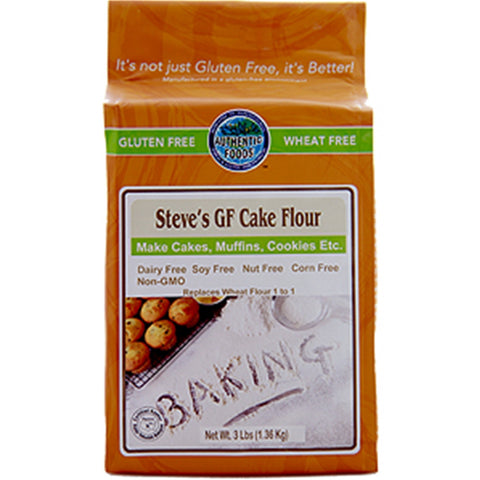 Authentic Foods Steve's Cake Flour Blend - 3 lb