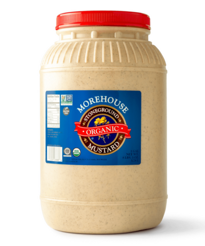 Morehouse Organic Stoneground Mustard - 1 Gallon