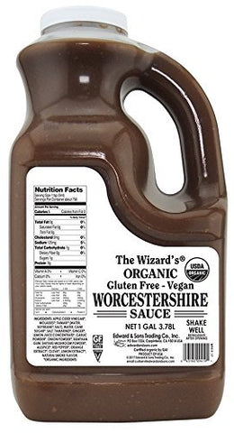 The Wizards Worchestershire Sauce - 1 Gallon