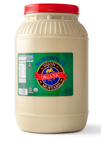Morehouse Organic Dijon Mustard - 1 Gallon