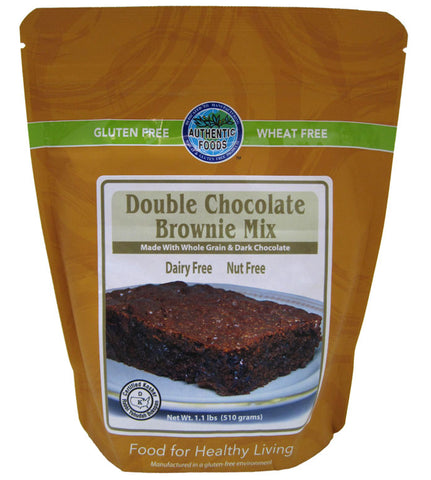Authentic Foods Double Chocolate Brownie Mix - 2 Pack