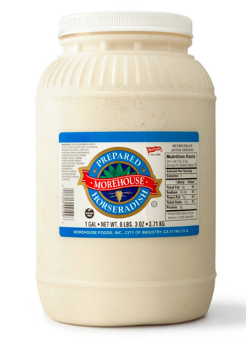 Morehouse Organic Horseradish - 1 Gallon
