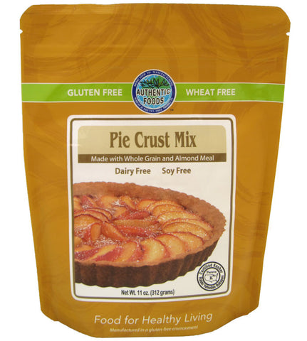 Authentic Foods Pie Crust Mix - 2 Pack