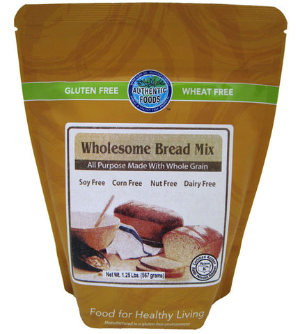 Authentic Foods Gluten Free Wholesome Bread Mix - 2 Pack