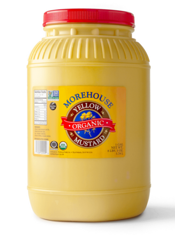 Morehouse Organic Yellow Mustard - 1 Gallon