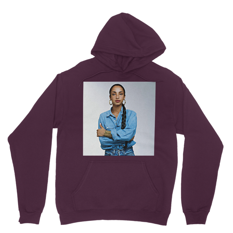 The Unisex SADE Classic Hoodie (15 color waves) - Babes And Felines | Specializing in Fashionable Staple Pieces for Every Shape and Size (1574835093576)