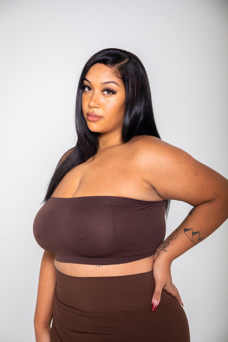 BABE CROP TUBE (14 COLORS)