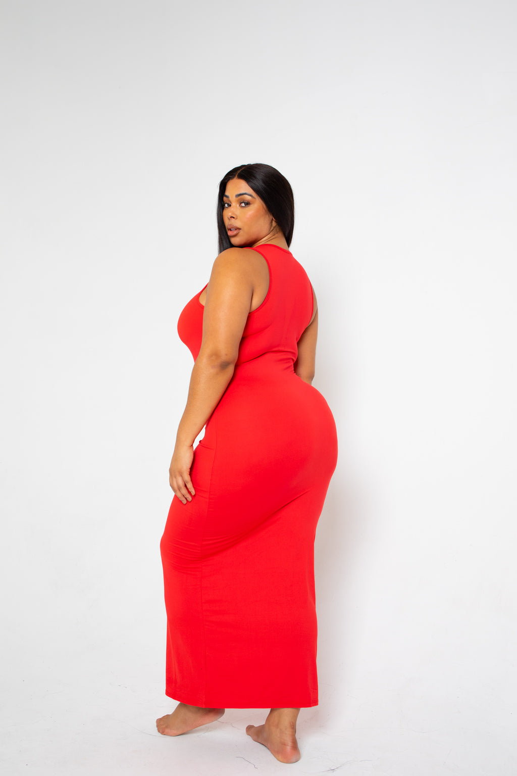 The Body Dress 'Ruby' (fits up to Plus)