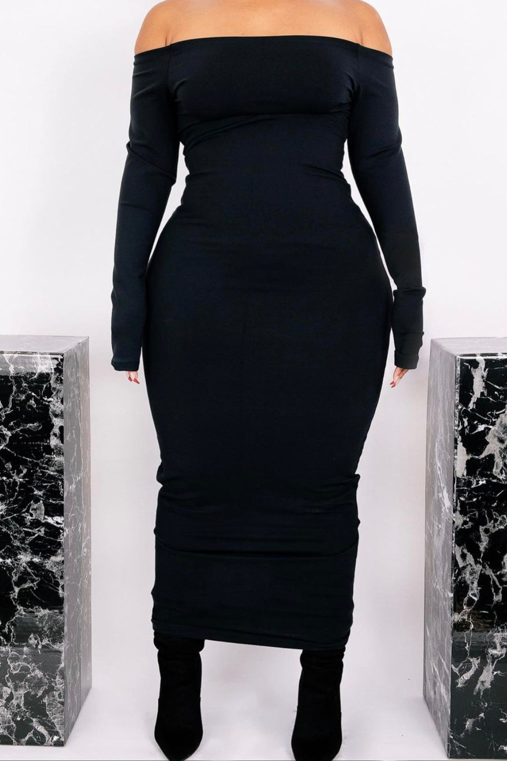 The BLACK Wifey Shaping Maxi 3
