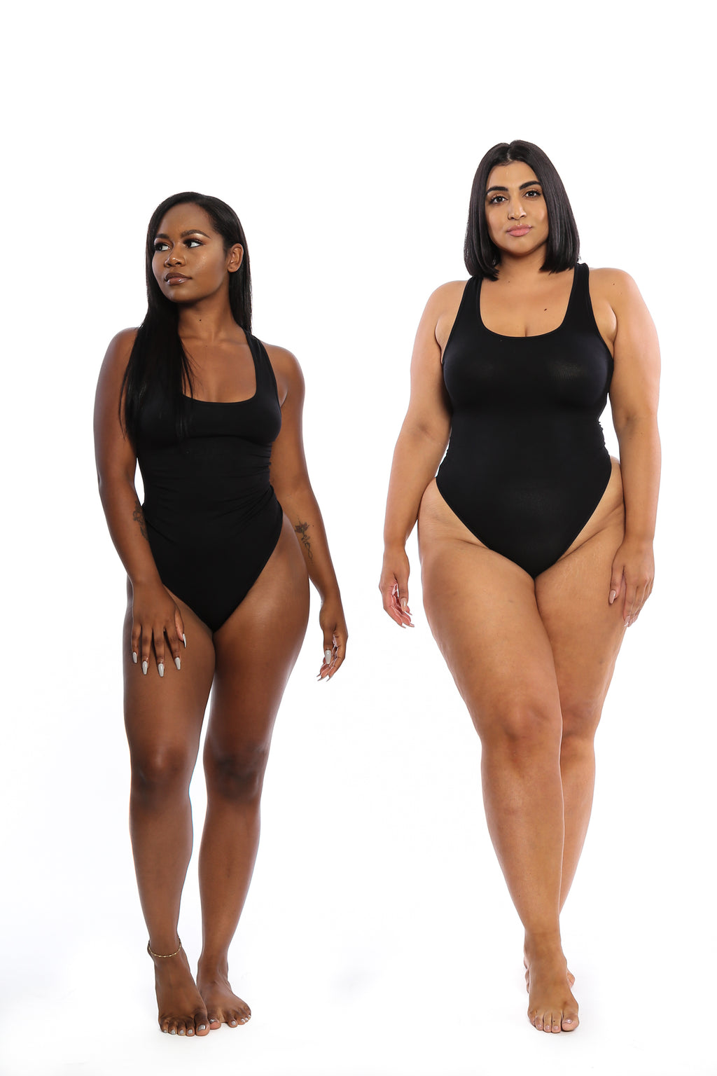 Black Body By Babes Thong Bodysuit w/ Tummy Control - Babes And Felines | Specializing in Fashionable Staple Pieces for Every Shape and Size (8328497543)