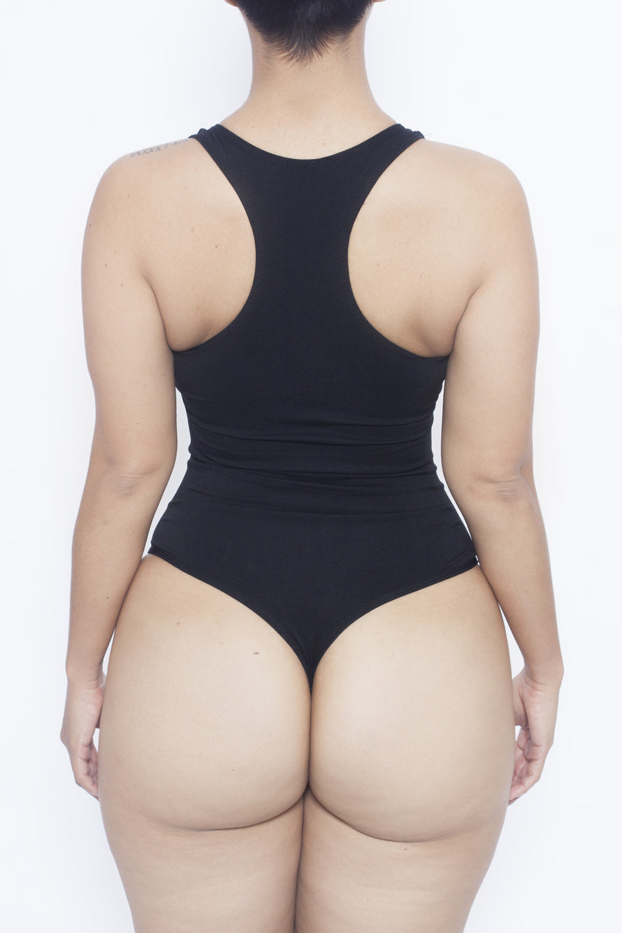 Black Body By Babes Thong Bodysuit w/ Tummy Control - Babes And Felines | Specializing in Fashionable Staple Pieces for Every Shape and Size