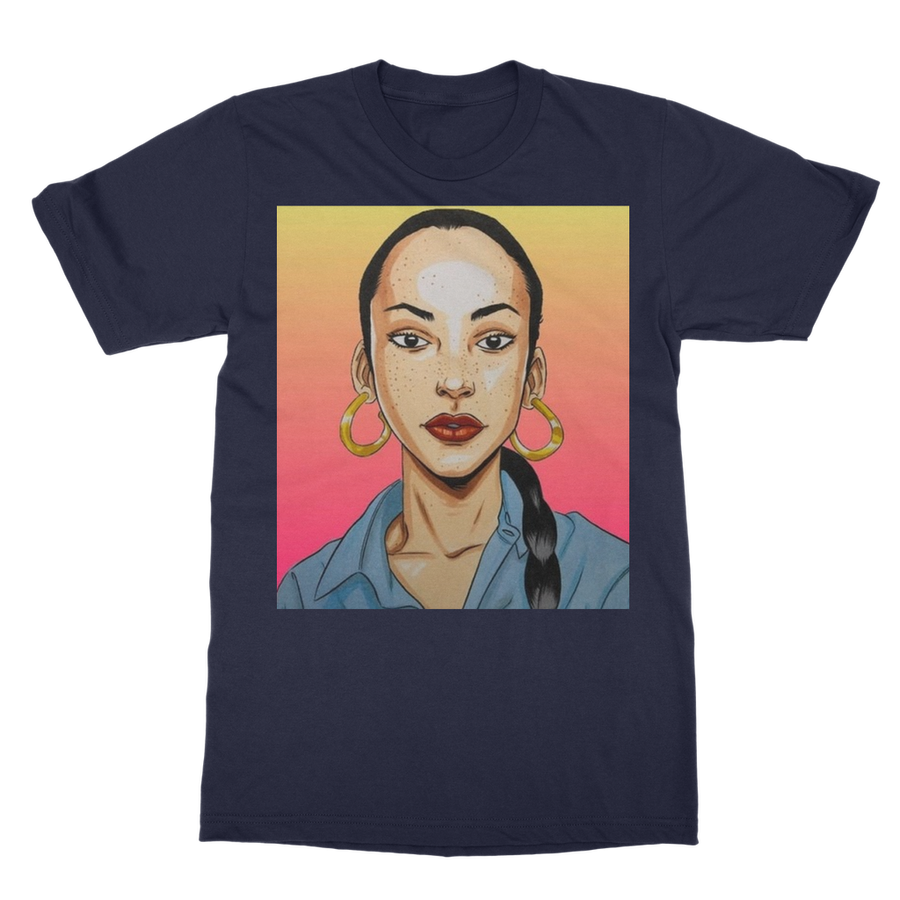 The Graphic Sade Tee (15 color waves) - Babes And Felines | Specializing in Fashionable Staple Pieces for Every Shape and Size