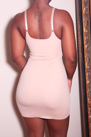 The Tummy Control Dress in Nude