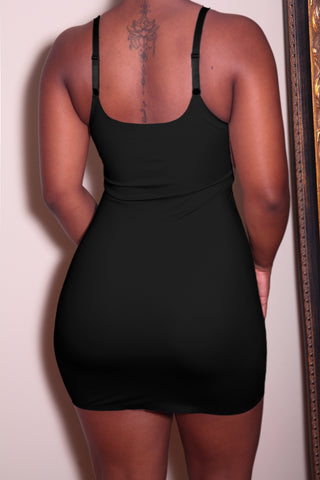 The Tummy Control Dress in Black