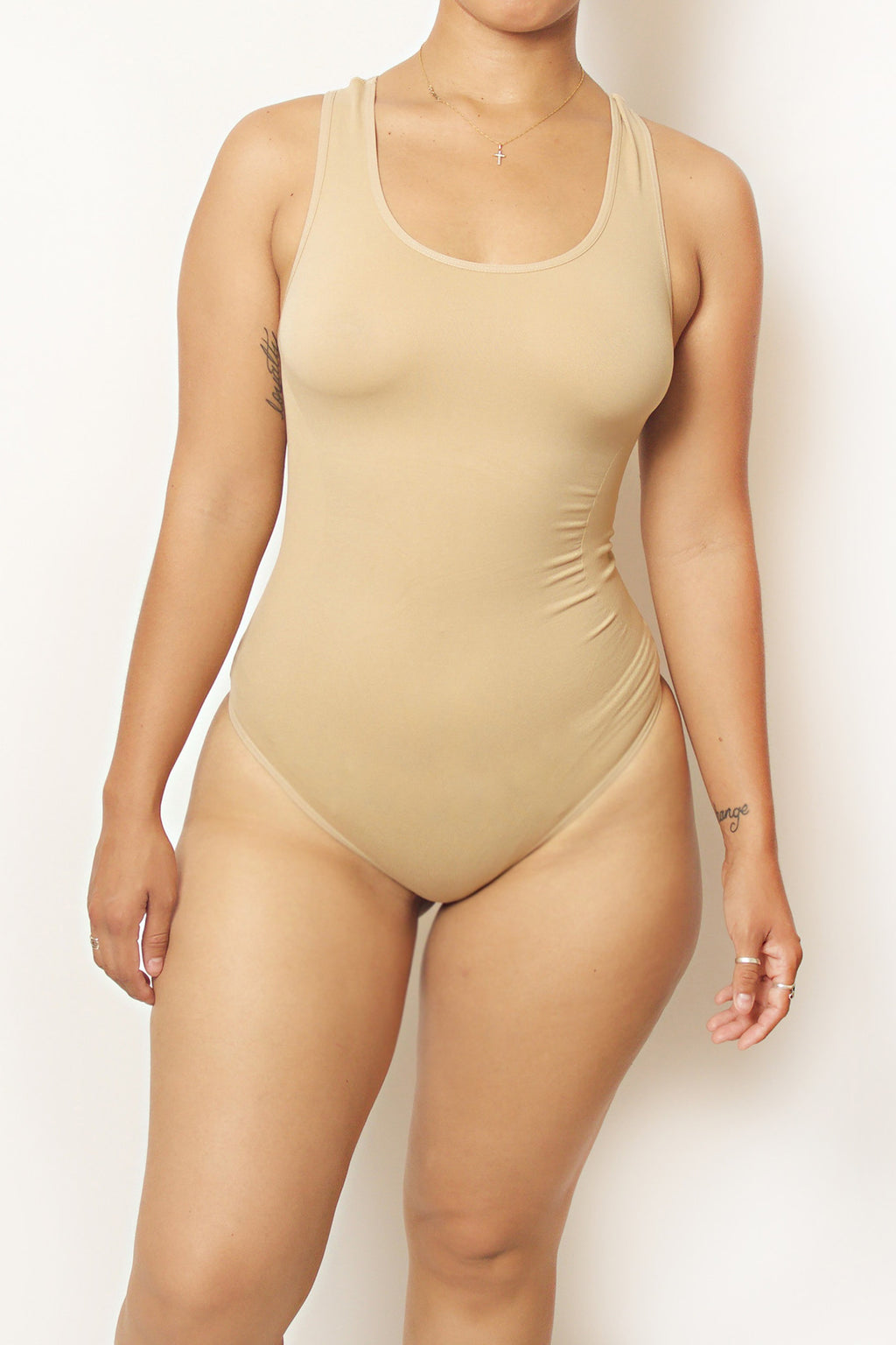 Nude Body By Babes Thong Bodysuit w/ Tummy Control - Babes And Felines | Specializing in Fashionable Staple Pieces for Every Shape and Size