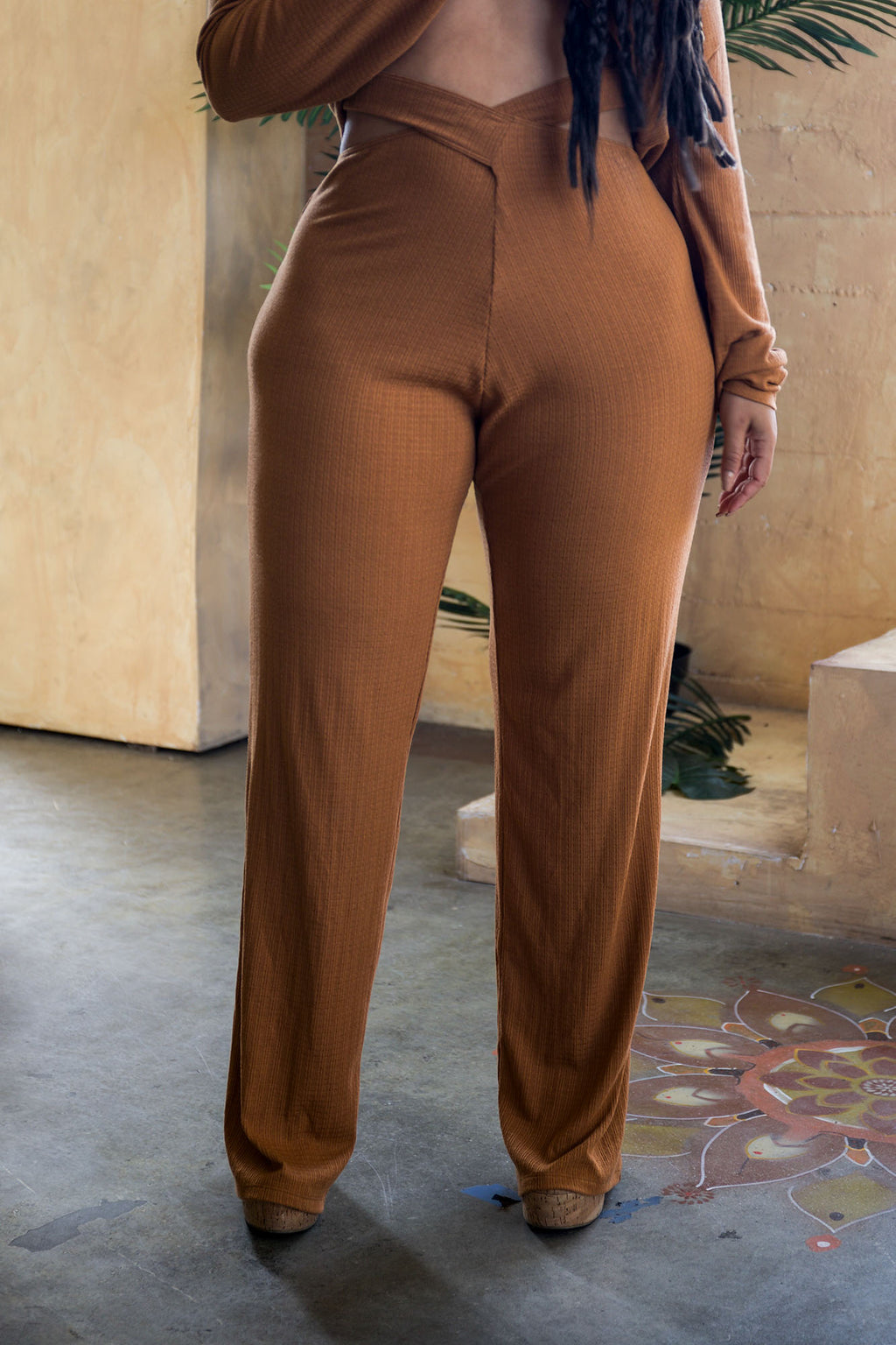 BRONZE LEISURE Around The World Pant (fits plus)