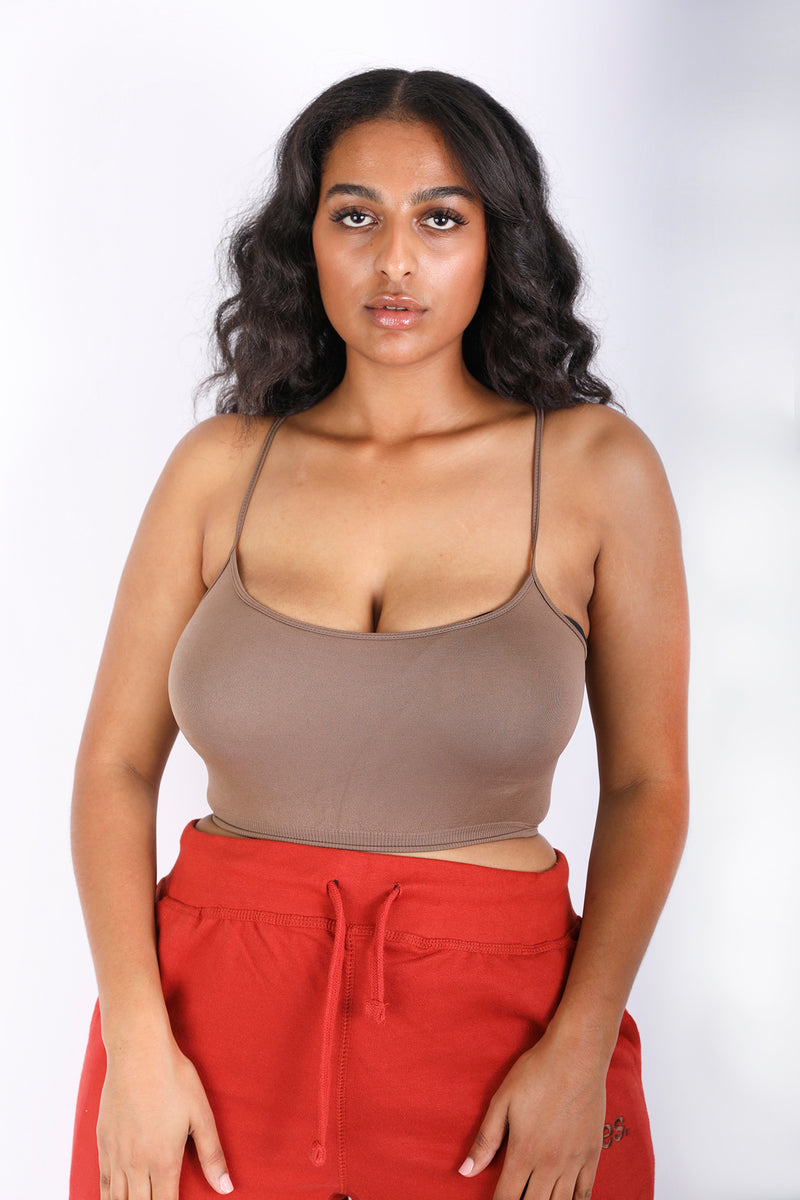 SOPHIA Strappy CROP TOP (7 COLORS) (453647269)