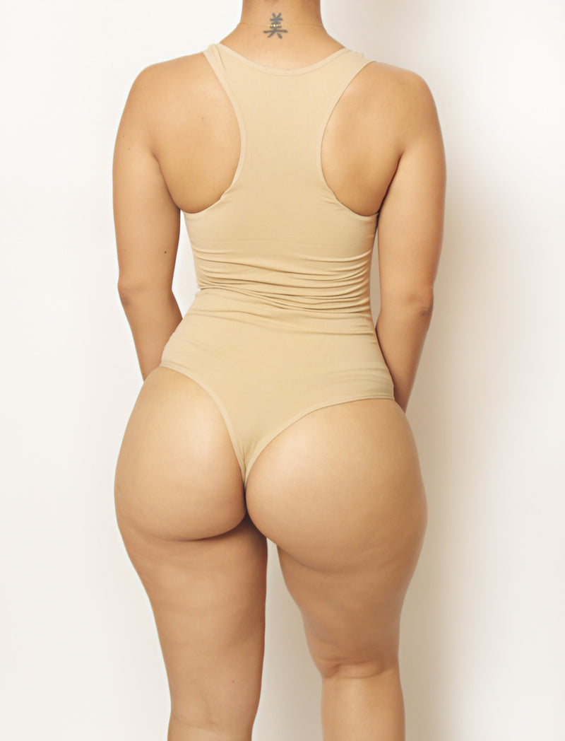 Nude Body By Babes Thong Bodysuit w/ Tummy Control - Babes And Felines | Specializing in Fashionable Staple Pieces for Every Shape and Size (8328299847)