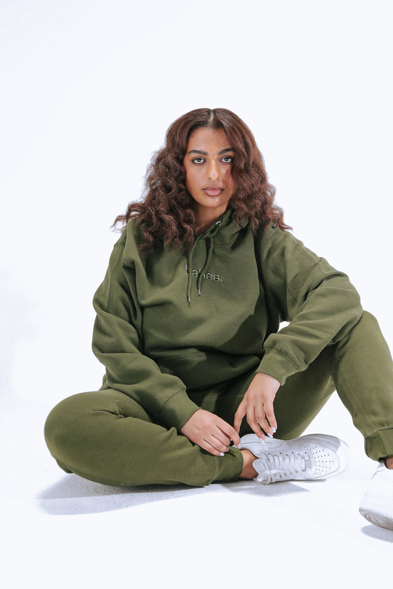 """Olive"" Babes Comfy Hoodie"