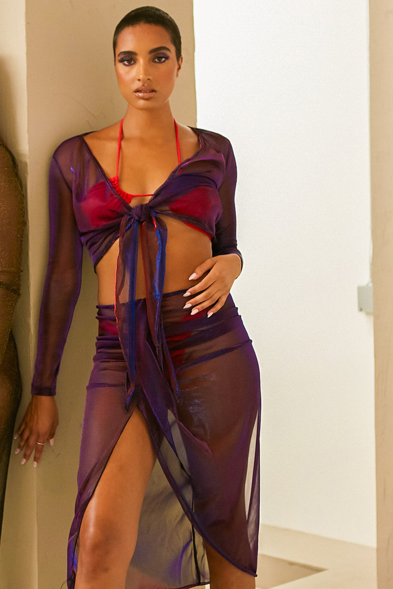 The Violet Cutout Halter Dress - Babes And Felines | Specializing in Fashionable Staple Pieces for Every Shape and Size