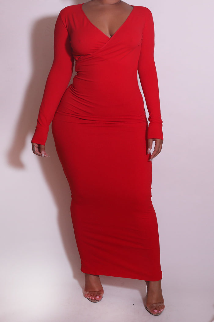 Maternity CABO RED Tube Dress/Maxi Skirt