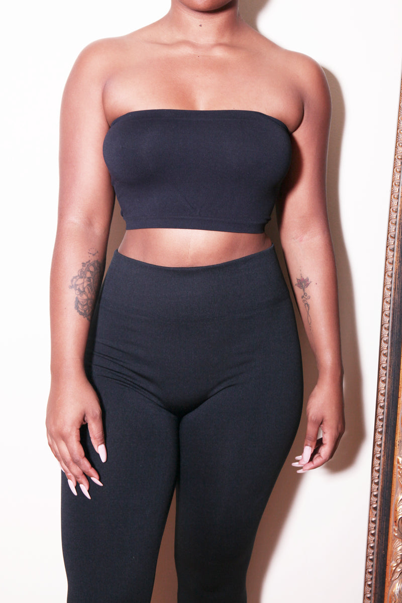 3-5 Pack Babe Crop Tube Pack - Babes And Felines | Specializing in Fashionable Staple Pieces for Every Shape and Size (1387924258888)