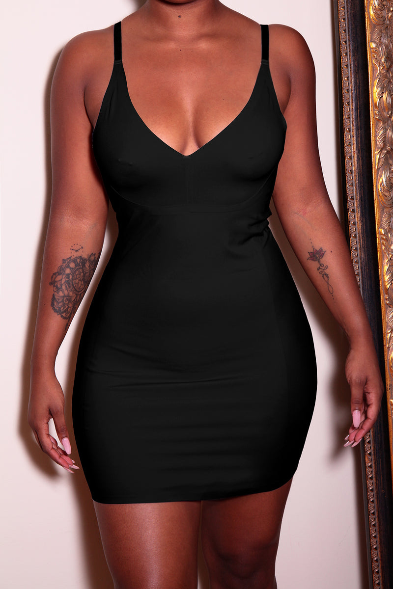 The Tummy Control Dress in Black - Babes And Felines | Specializing in Fashionable Staple Pieces for Every Shape and Size (111315353620)