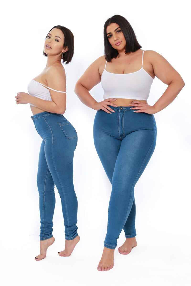 Zoe Curvy Jean (available in Plus) - Babes And Felines | Specializing in Fashionable Staple Pieces for Every Shape and Size