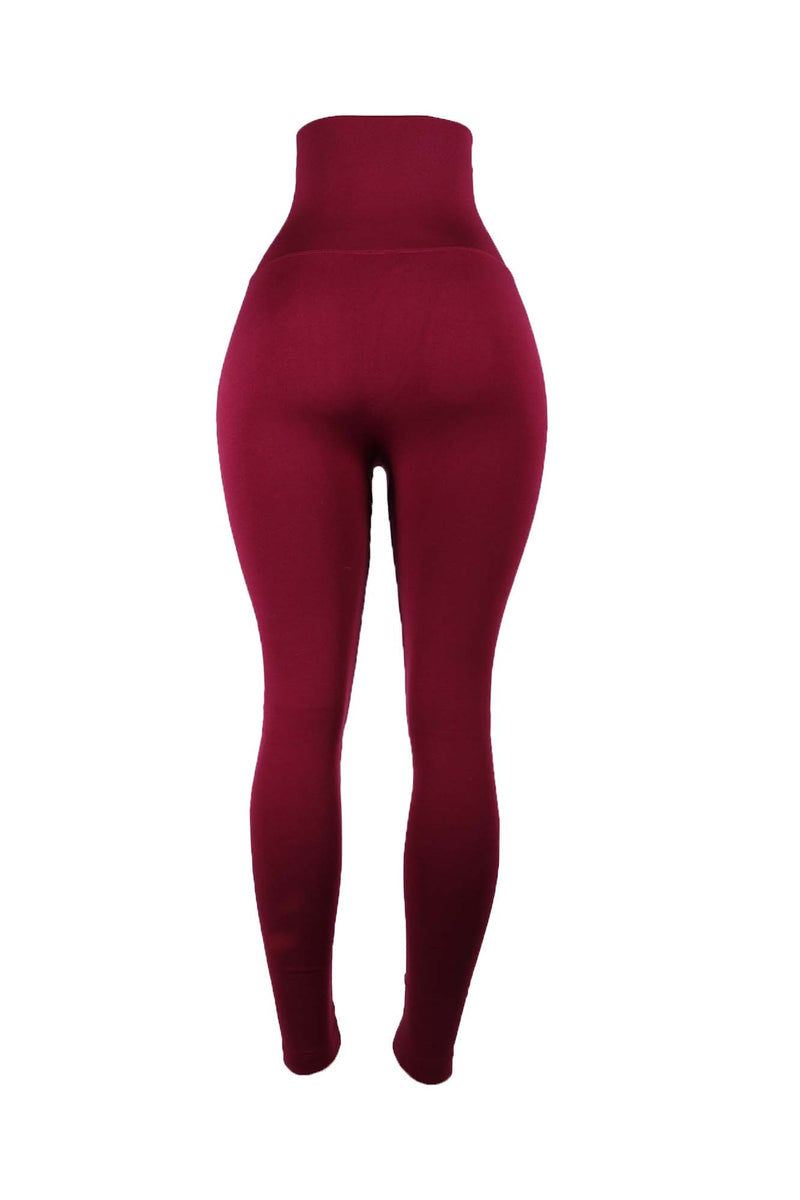 The Wine Yoga Tummy Control Legging fits up to PLUS! (choose your size) - Babes And Felines | Specializing in Fashionable Staple Pieces for Every Shape and Size