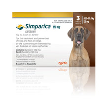 Simparica Tablets 40-60kg (3pack)