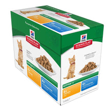 Hills Science Plan Feline Kitten Classic Selection Chicken and Ocean Fish (Pouch)