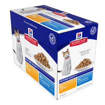 Hills Science Plan Feline Mature Optimal Care Chicken & Fish Selection (Pouch)