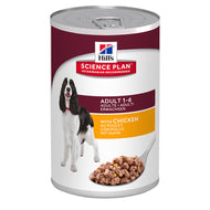 Hills Science Plan Canine Adult 370g Can (Savoury Chicken)