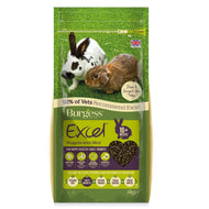 Burgess Rabbit Food - Excel Adult Nuggets with Mint