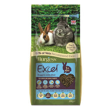 Burgess Rabbit Food - Excel Junior & Dwarf Nuggets (2kg)