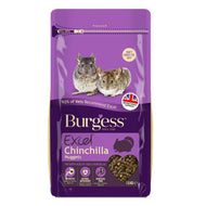 Burgess Chinchilla Food - Excel Adult Nuggets with Mint (1.5kg)
